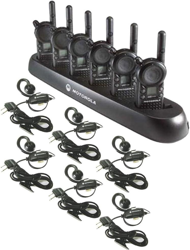 Amazon.com: 6 unidades de Motorola CLS1110 radios Walkie ...