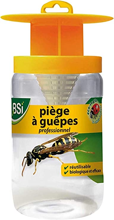 Bsi 50499 Piege A Guepes Professionnel Anti Nuisible Amazon Fr Jardin