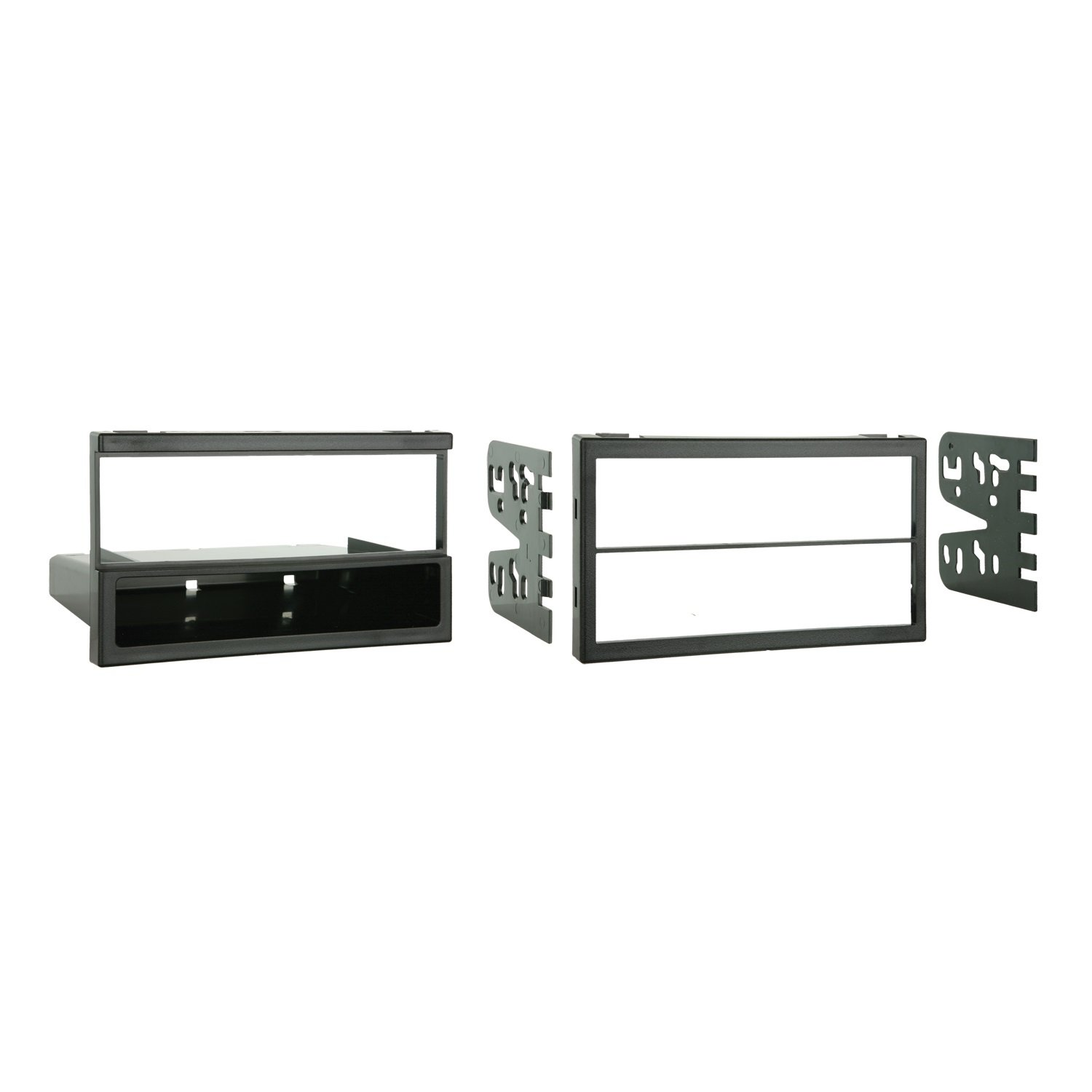 Metra 99-7505 Single or Double DIN Installation Multi-Kit for Select 1994-2006 Mazda Vehicles -Black