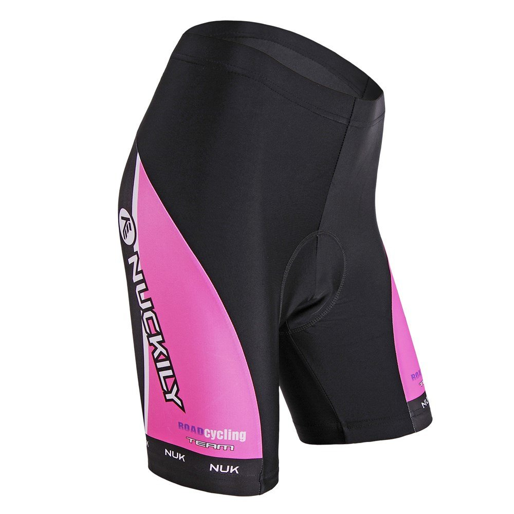 NUCKILY Women Cycling Shorts Summer Bicycle Shorts Pad LTD