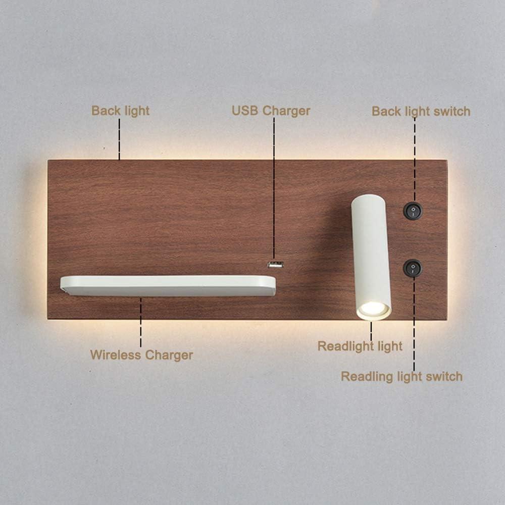 Bedside Reading Light Wall Lamp Sconce, Modern LED Bedroom Lamp