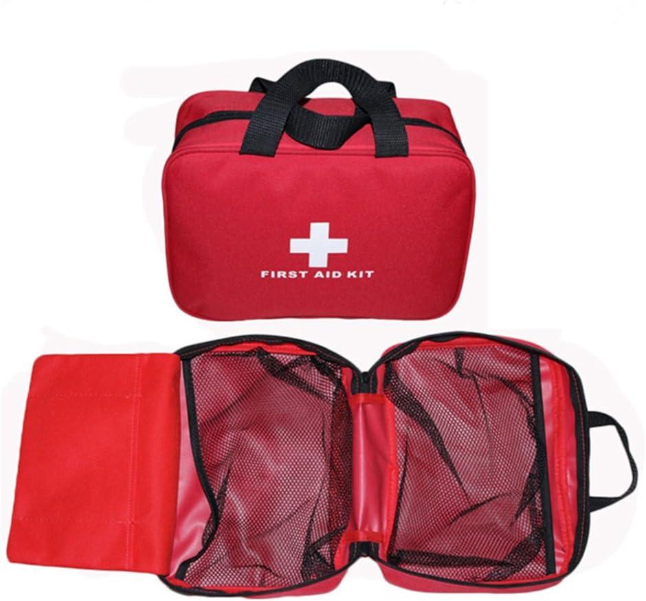OnePine Botiquín de Primeros Auxilios vacío, portátil Bolsa de Primeros Auxilios, Bolsa de Almacenamiento,para casa, Oficina, Viaje (No Contiene artículos de Primeros Auxilios): Amazon.es: Deportes y aire libre
