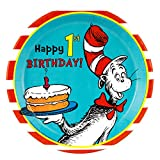 Dr. Seuss 1st Birthday Party Dinner Plates (48)