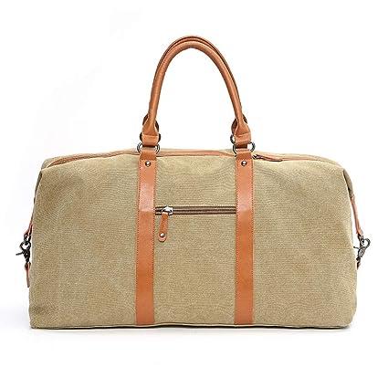 c0306abdde04 Yamyannie Men Women Portable Travel Duffles Portable Travel Bag Men s  Lightweight Business Bag Korean Women s Leisure