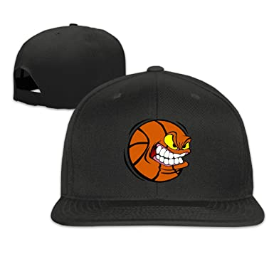 Amazon.com: Jusxout Angry - Gorra de béisbol de baloncesto ...