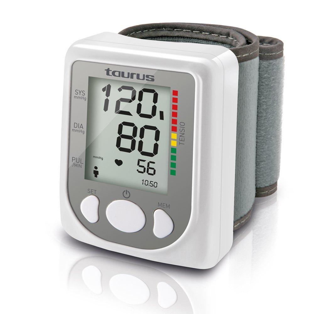 Taurus Tensio - Blutdruckmessgerät Handgelenk, Speicher für 60Werte, Automatik.