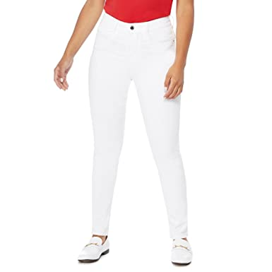 31a326cf4429 Principles Petite Womens White Slim Leg Petite Jeans 20P: Principles ...