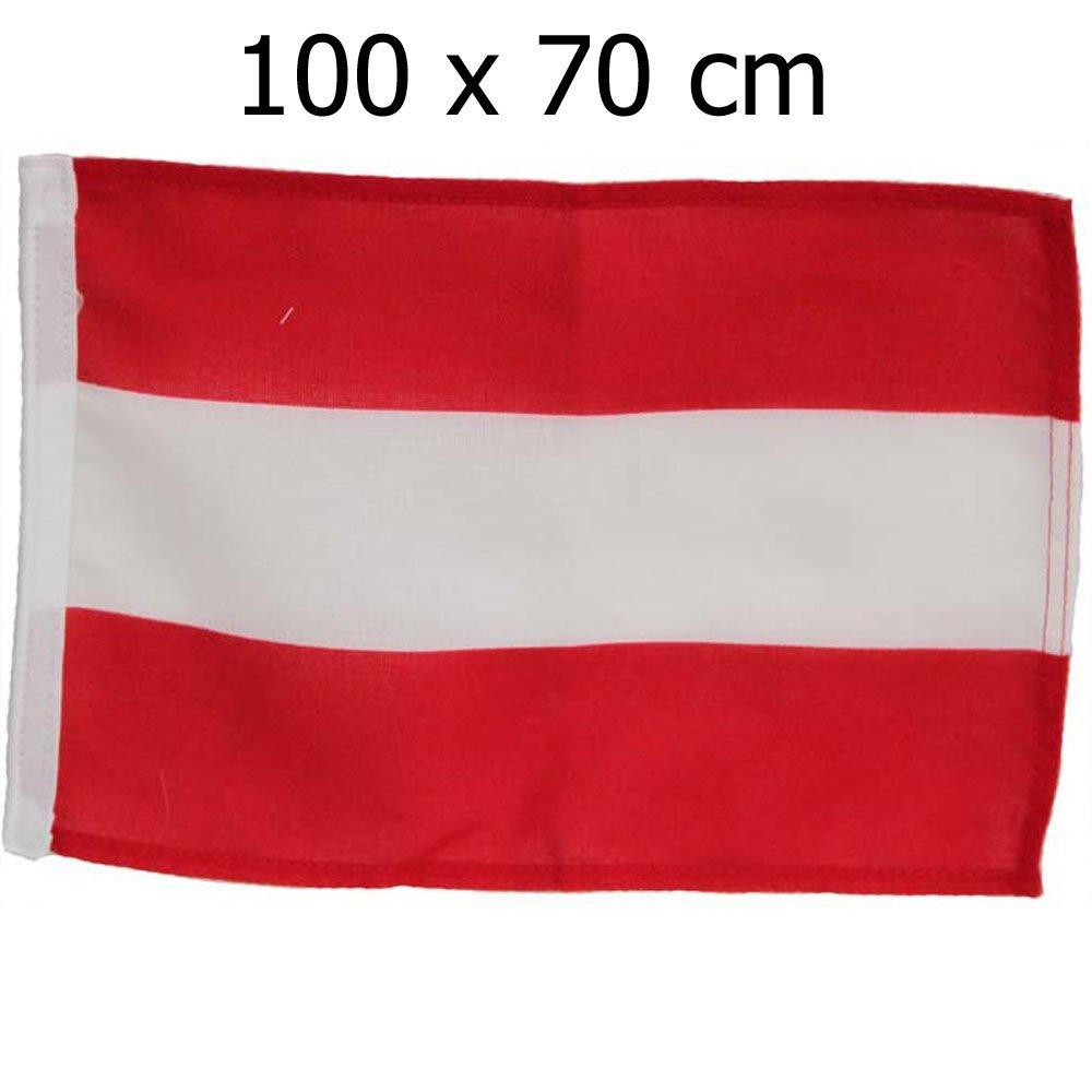 Bootsflagge Fahne Österreich 100 x 70 cm Lalizas