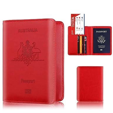 Carteras de BaZhaHei Bifold Business Leather Wallet ID Titular de la Tarjeta de crédito Prime Cartera