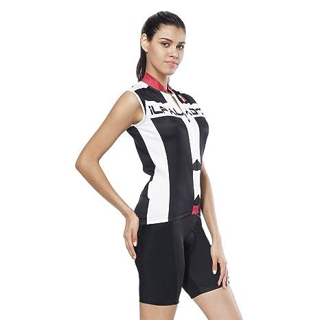 YGBH Jersey de Ciclismo Conjunto de Traje para Mujer ...