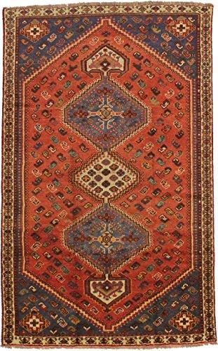 Amazing Rare Design Handmade Tribal Shiraz Persian Style Rug Oriental Area Carpet - Persian Rugs Shiraz