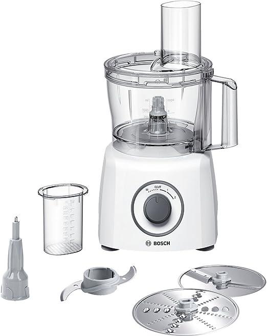 Bosch MCM3110W - Robot de cocina (2,3 L, Blanco, Giratorio, De ...