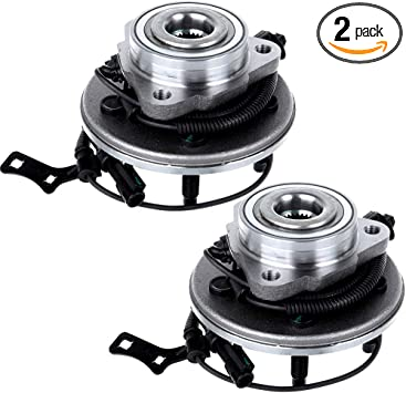 2006 For Ford Explorer Front Wheel Bearing and Hub Assembly x 2