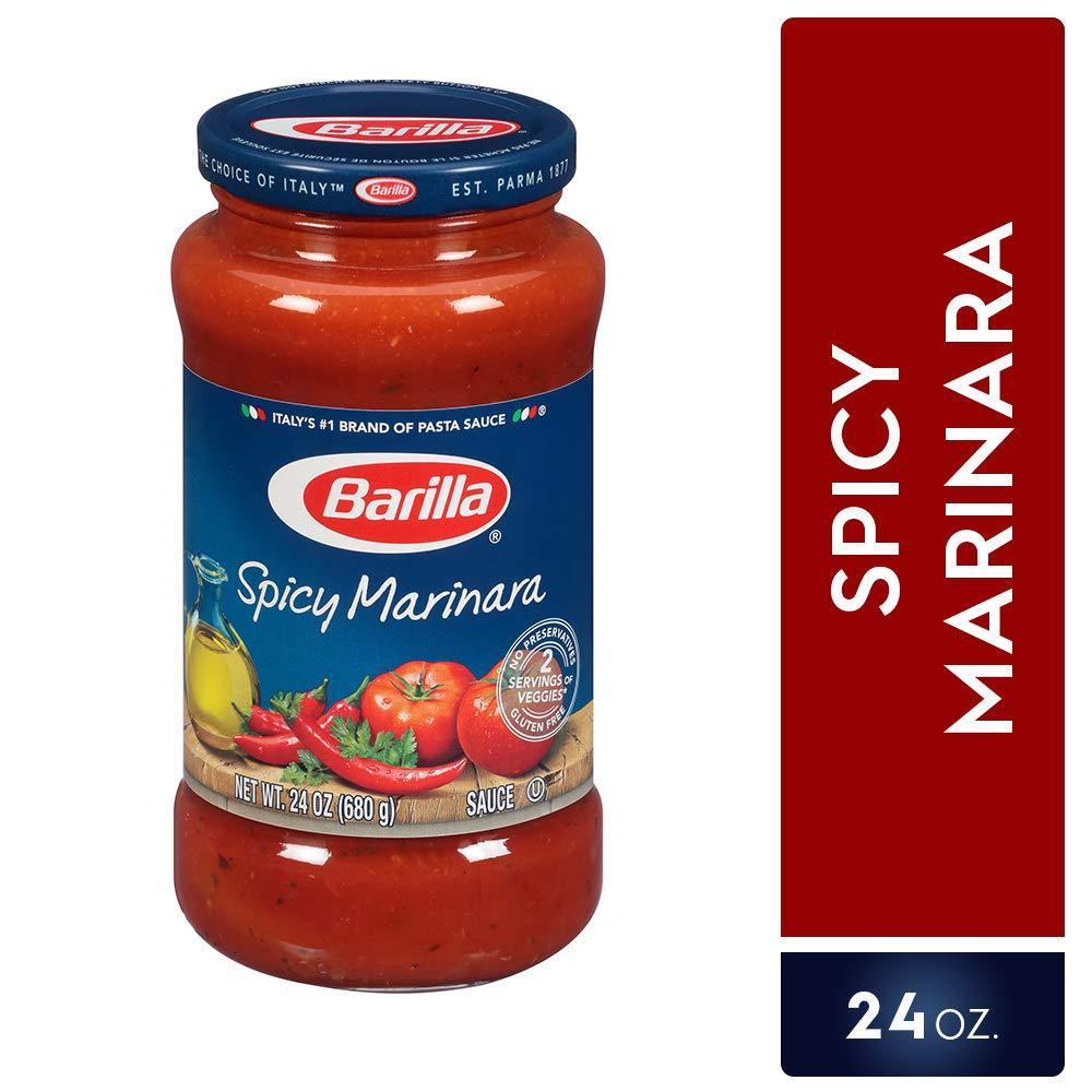 Amazon.com : Barilla Pasta Sauce, Roasted Garlic, 24 Ounce (Pack of 8) : Grocery & Gourmet Food