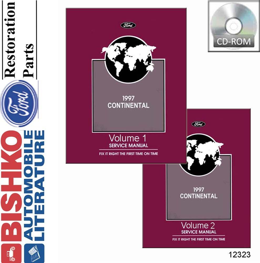Amazon.com: bishko automotive literature 1997 Lincoln Continental Shop  Service Repair Manual CD Engine Drivetrain OEM: Automotive