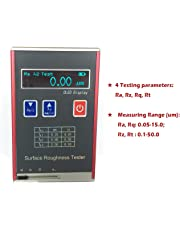 Digital Surface Roughness Gauge Profile Measuring Meter with Parameters Ra Rz Rq Rt Surface Roughness Tester of Ra Rq Range 0.05 to 15.0