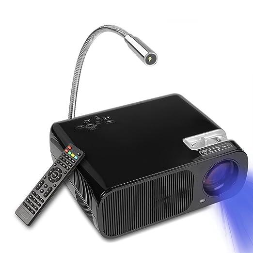 48 opinioni per Proiettore 2600LM, YOKKAO Videoproiettore a LED Portatile 1080P con Telecomando