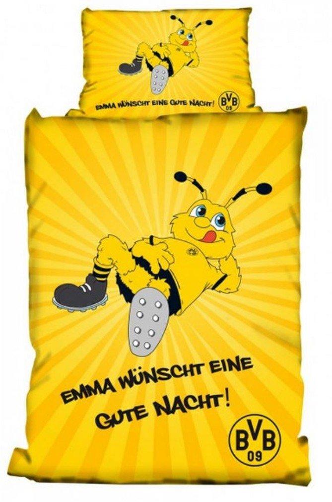 Borussia Dortmund Linon Bettw/äsche Emma BVB
