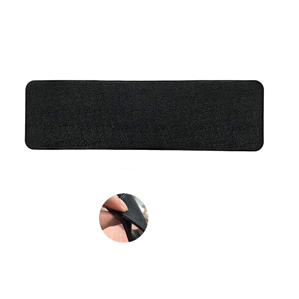 memorytime Long Car Dashboard Sticky Pad Non-Slip Mat Magic Anti-Slip Key GPS Tablet Holder Interior Accessories - Black 22 x 8 x 0.25cm