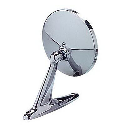 CIPA 17000 Universal Round Chrome Car Side Mirror: Automotive [5Bkhe0100265]