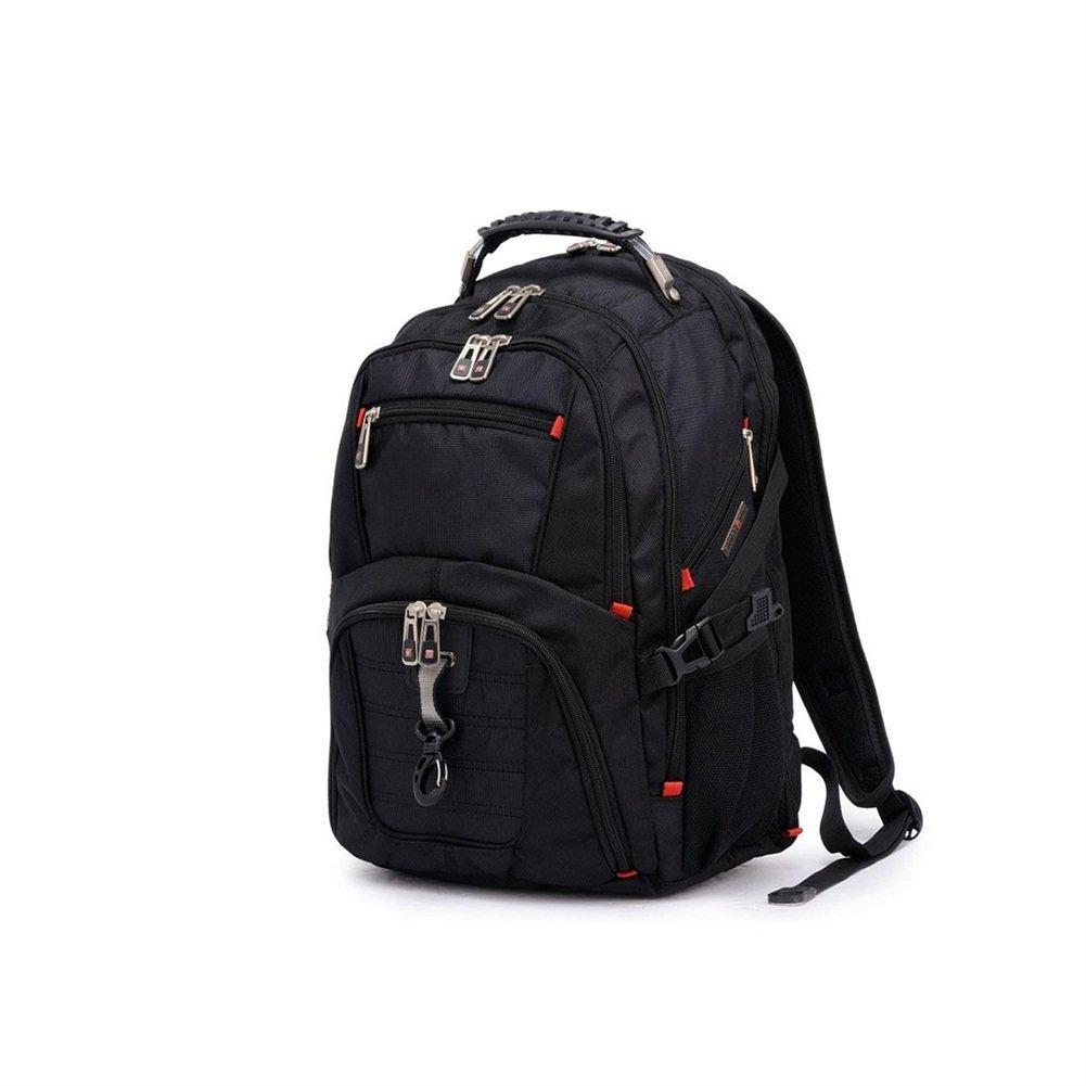 FZG アウトドア 登山バッグ ショルダー 男女兼用 多機能 大容量 防水 旅行用 バックパック  ブラック B07G139HR4