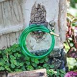 Miniature Fairy Garden Green Garden Hose, Wall Attachment