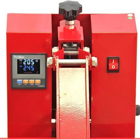 PixMax Prensa de Calor Maquina de Prensa de Calor Máquina de la Sublimación de la Transferencia de la Prensa del Calor de la Camiseta, uso para Industrial | 50cm x 50cm |