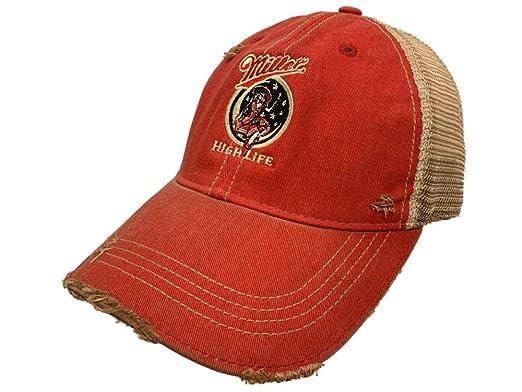 7cc99fc08 Original Retro Brand Miller High Life Brewing Company Retro Brand Vintage  Mesh Beer Adjust Hat Cap