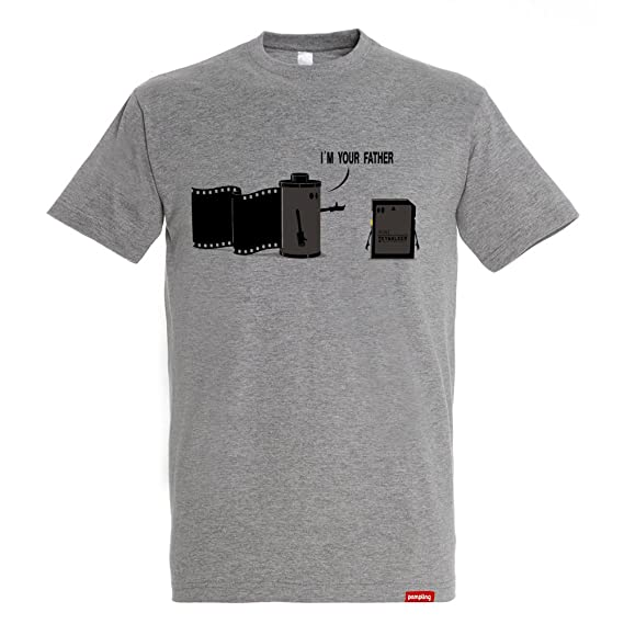 Pampling Camiseta Im Your Father - Star Wars - Color Gris Vigoré - 100