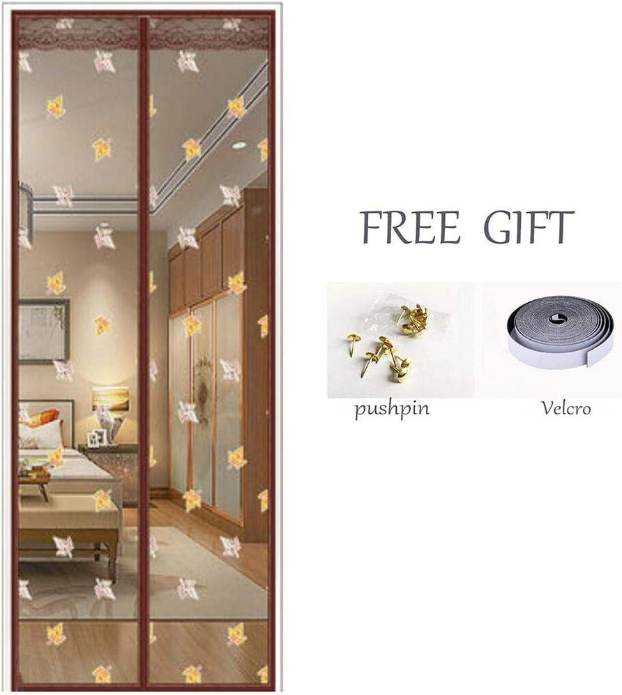 ZJFSX Puerta mosquitera magnética, cifrado, malla transpirable para puerta, cortina de malla fuerte sin costuras para puertas correderas, balcón: Amazon.es: Bricolaje y herramientas