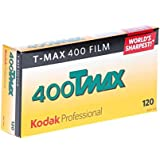 Kodak 856 8214 Professional 400 Tmax Black and White Negative Film 120 (ISO 400) 5 Roll Pack