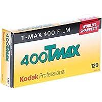 Kodak Professional T-Max 400 Black and White Negative Film (120 Roll Film, 5-Pack) - 8568214