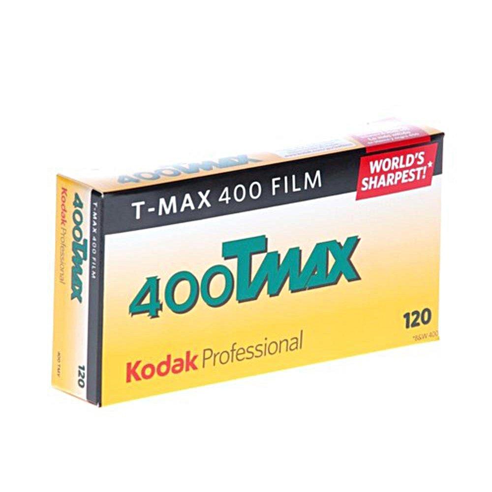 5 Roll Pack ISO 400 Kodak 856 8214 Professional 400 Tmax Black and White Negative Film 120