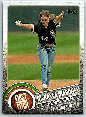 2015 Topps First Pitch  Fp 03 Mckayla Maroney White Sox Nm Mt