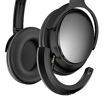 Hzjundasi Adaptador Bluetooth inalámbrico para Auriculares Bose QuietComfort 25 QC25,Micrófono/Control de Volumen Remoto,Soporte APPLE Android Phones: ...