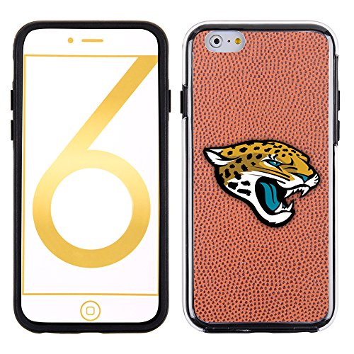 NFL Jacksonville Jaguars Classic Football Pebble Grain Feel No Wordmark iPhone 6 Case, (Jacksonville Jaguars Football Case)