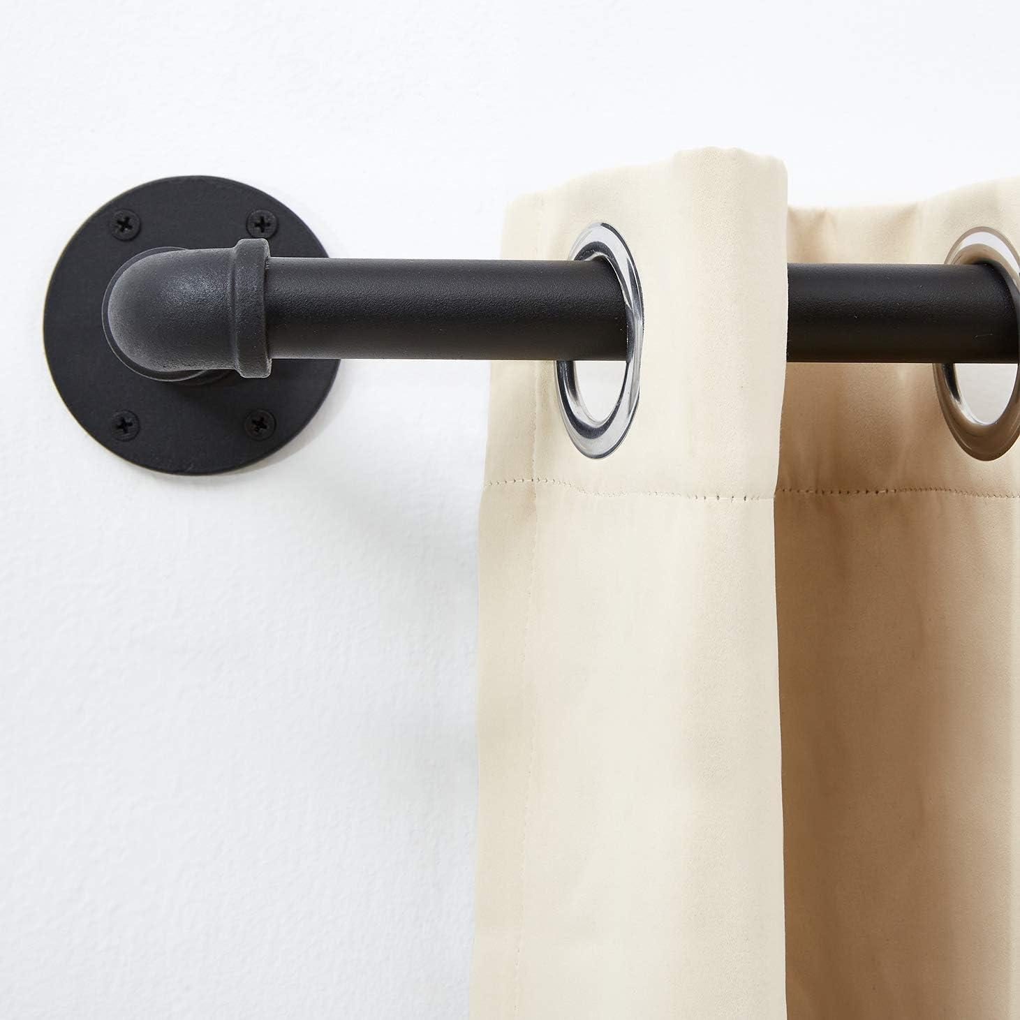 curtain rods outdoor curtain rod rustic