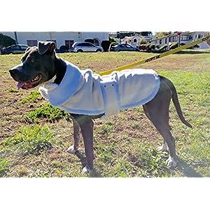 Shearling Fleece Winter Dog Jackets (X-Large)