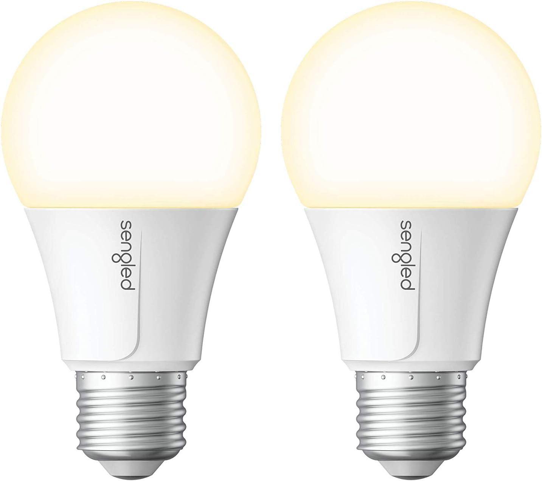 Sengled Smart Light Bulb, WiFi Light Bulbs That Work with Alexa & Google Home, No Hub Required, Smart LED Light Bulb A19 Soft White Light (2700K), 2 Pack