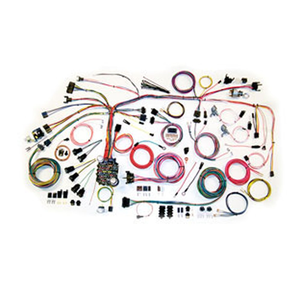 american autowire 500686 wire harness system for 69 camaro painless 20102 1969 74 camaro chevelle