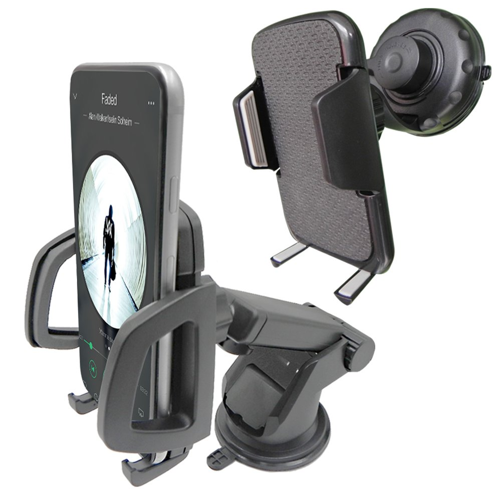 2 in 1 Universal Cell Car Phone Mount Holder for Windshied Dashboard /& Dashboard for iPhone 7s 6s Plus 6s 5s 5c Samsung Galaxy S8 Edge S7 S6 Note 5 Thopeb Car Mount