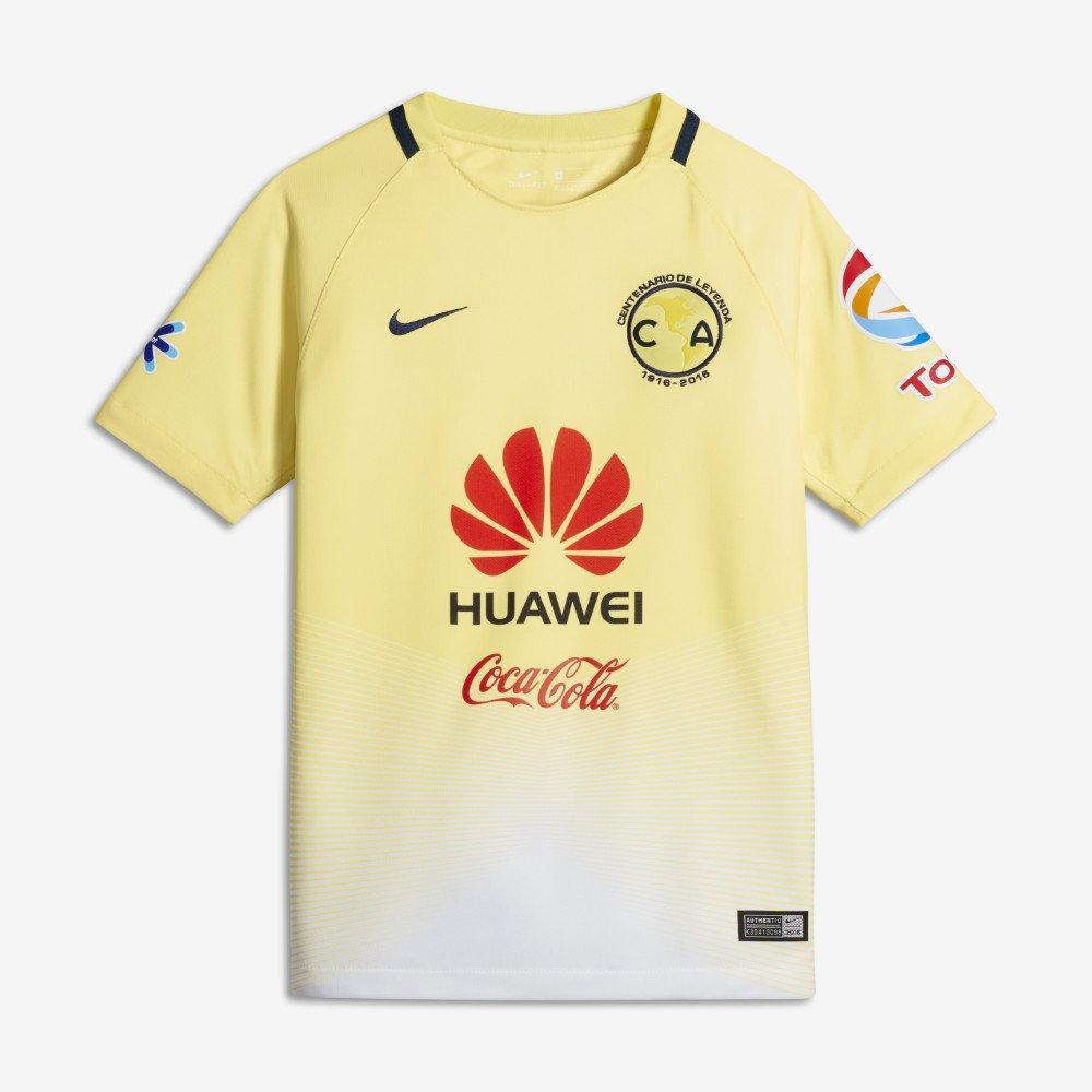 Nike Youth Club America Stadium jersey-lemonシフォン B01LYM9EYYMedium