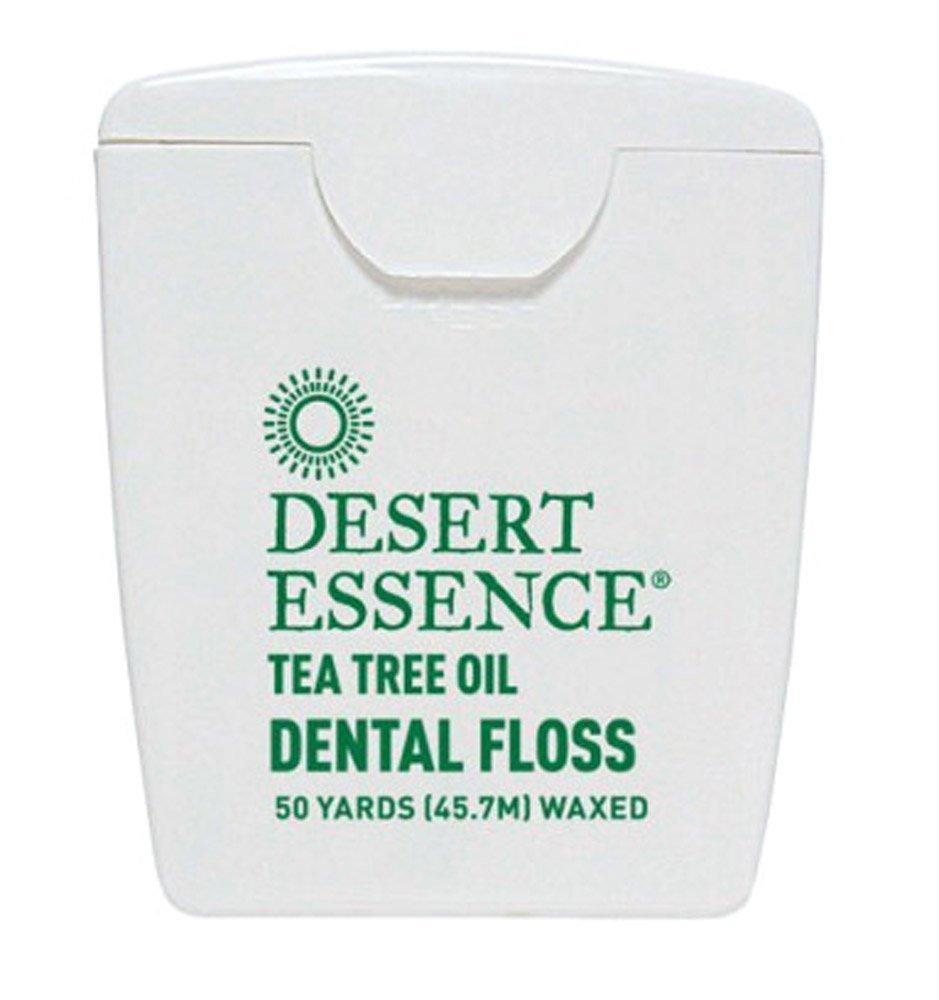 amazon com desert essence tea tree oil waxed dental floss tape