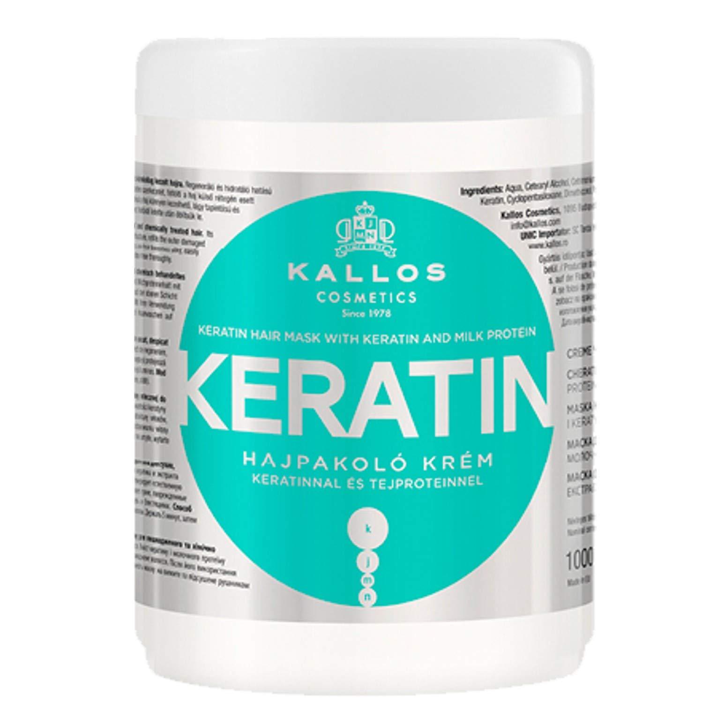 Kallos Keratin Hair Mask with Keratin & Milk Protein 1000ml