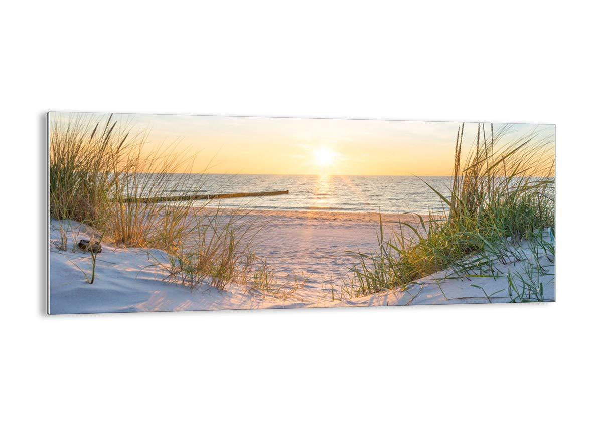 Glas - Glasbilder - Einteilig - Breite  100cm, Höhe  40cm - Bildnummer 3989 - zum Aufhängen bereit Kunstdruck - GAB100x40-3989