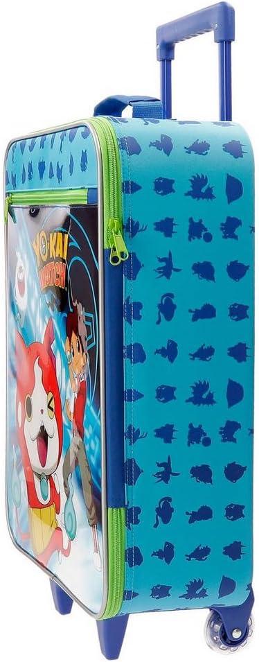 Yokai Watch 4159061 Nathan Equipaje Infantil, 50 cm, 25 litros, Azul: Amazon.es: Equipaje