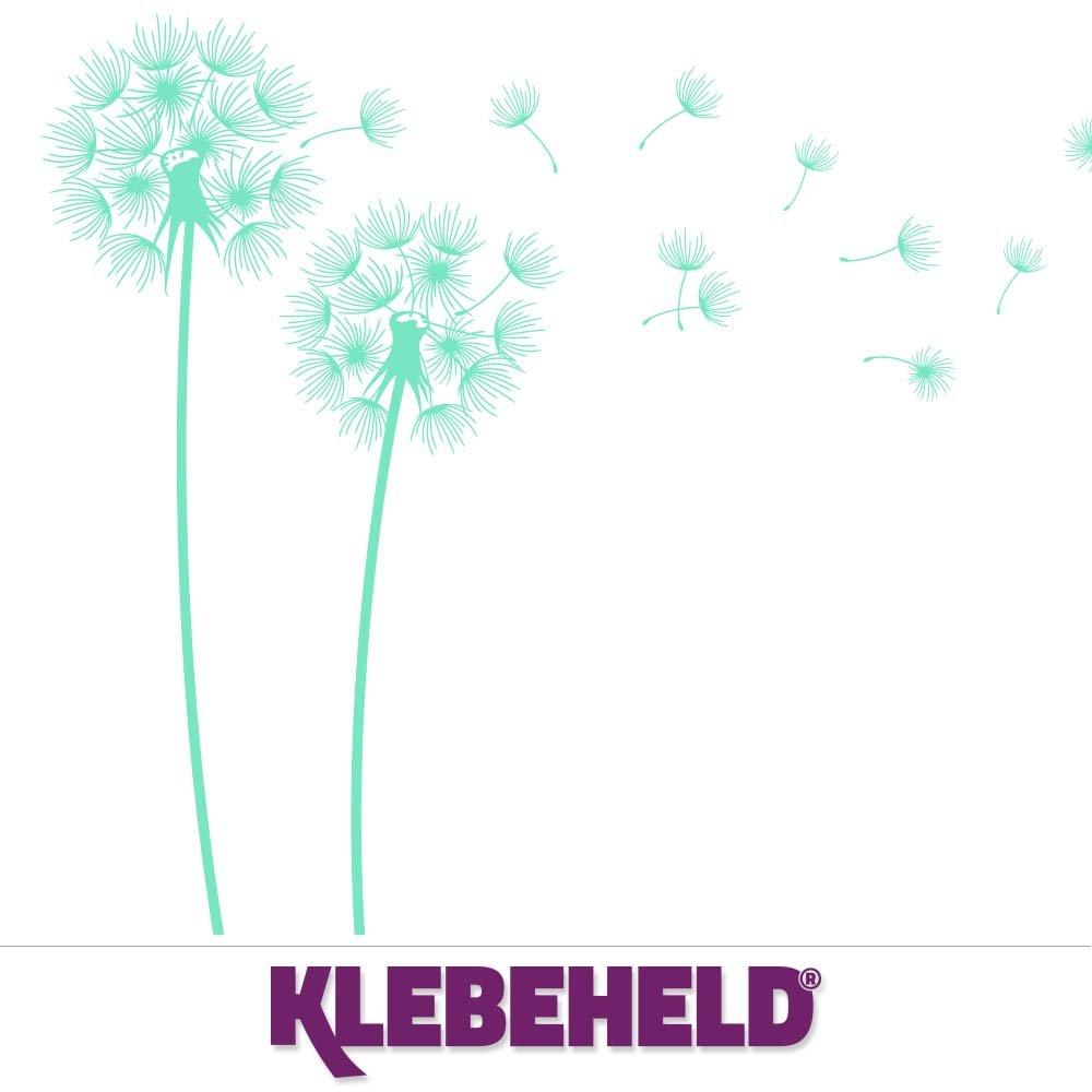 KLEBEHELD® Wandtattoo PusteBlaumen im Wind Größe 160cm, Farbe weiss B01LWKISPI B01LWKISPI B01LWKISPI Wandtattoos & Wandbilder e2ebb3