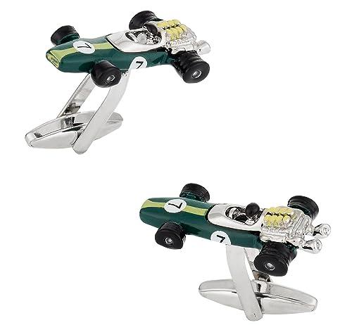 Amazon.com: Indy Gemelos de coche de carreras en verde con ...