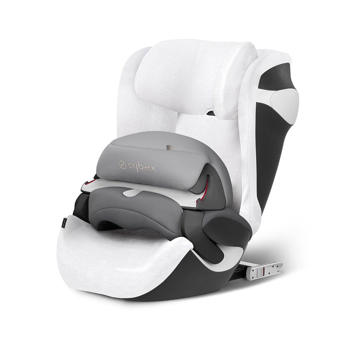 Cybex - Funda de verano, para Silla de coche para niñ os Juno 2-Fix, blanco para Silla de coche para niños Juno 2-Fix 512400001