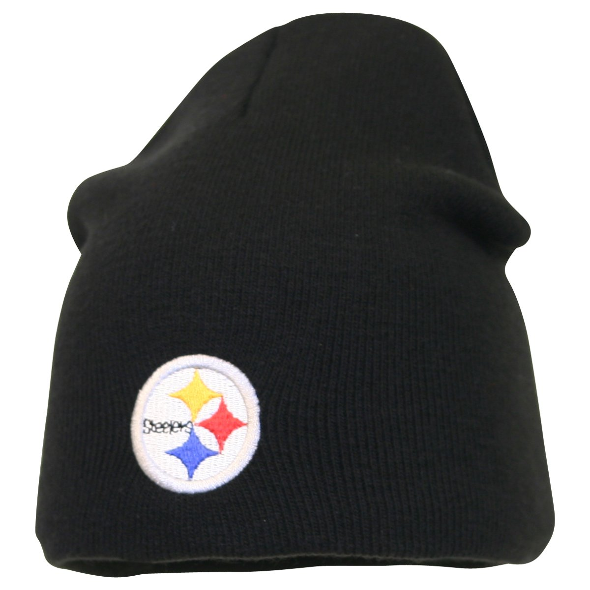 afcfda0a2f6e0 Amazon.com   Pittsburgh Steelers Classic Knit Beanie   Sports Fan Beanies    Clothing